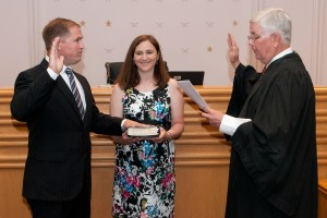 Swearing In drief